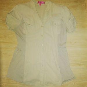 Almost Famous cotton blouse